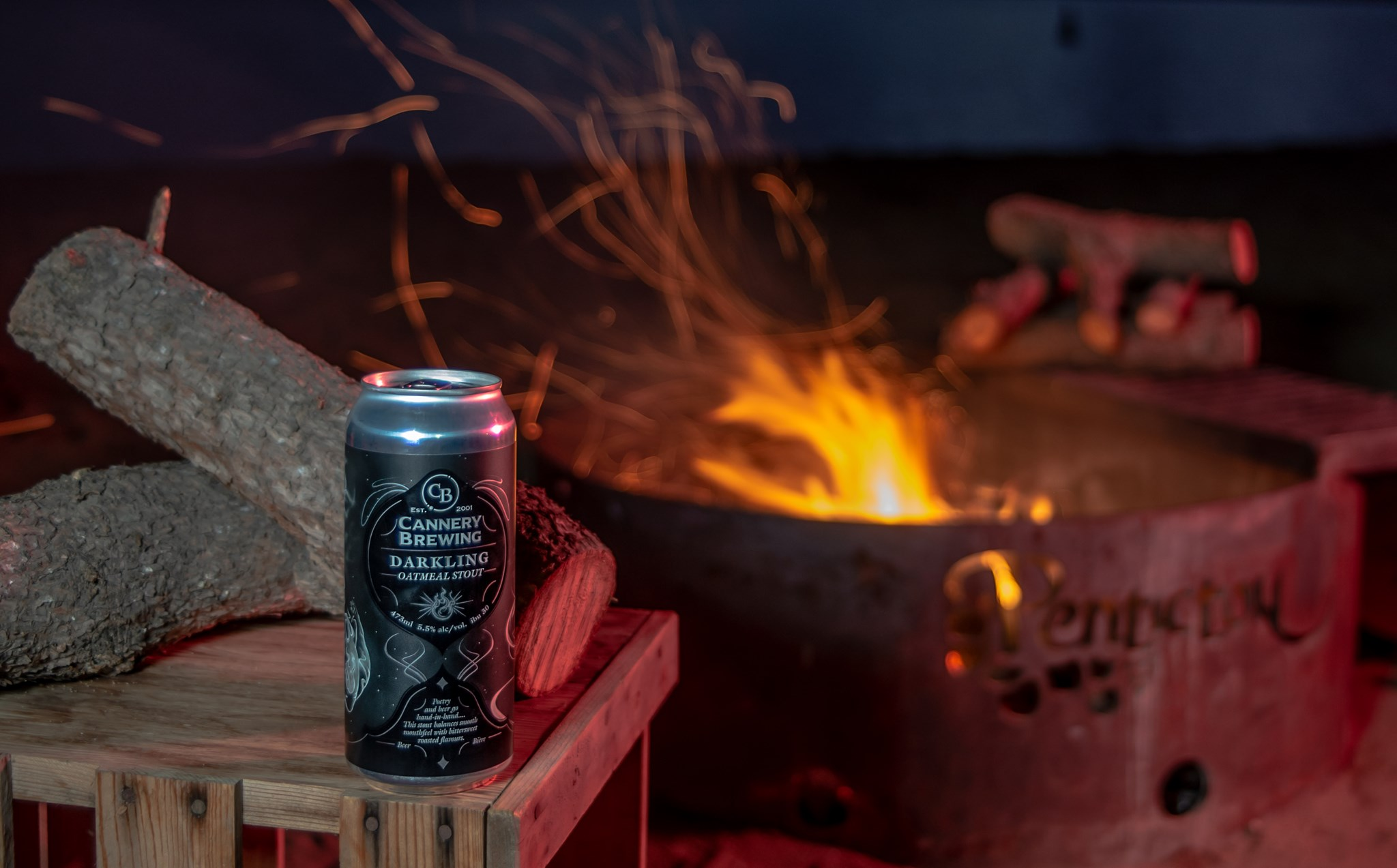 Beer of the Month: Cannery Brewing's Darkling Oatmeal Stout