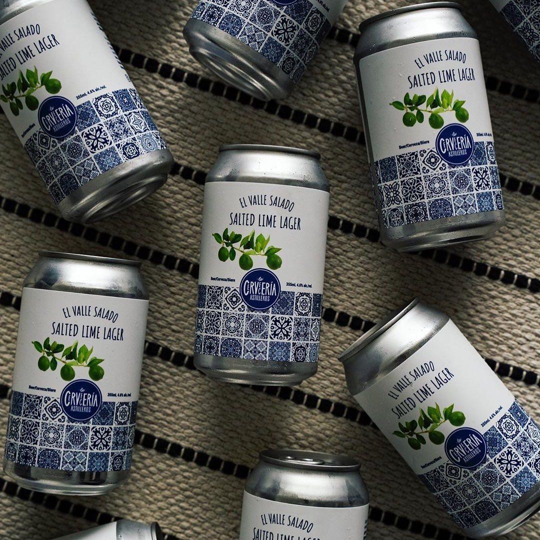 Beer of the Month: La Cerveceria Astilleros' Salted Lime Lager