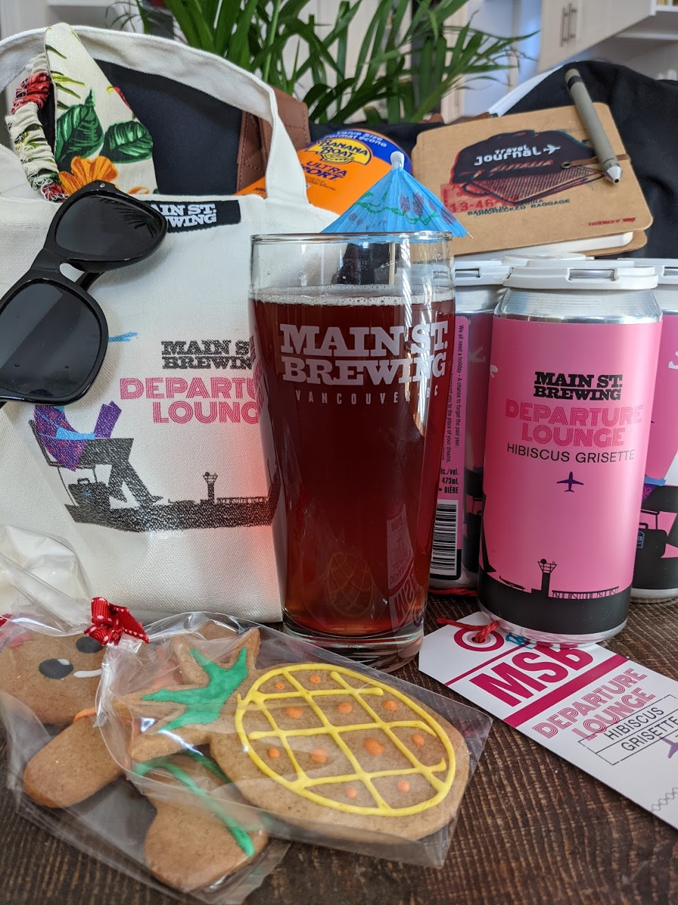 Beer of the Month: Main Street Brewing's Departure Lounge Grisette